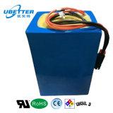 Batería de la motocicleta del paquete 60V 60ah de la batería con el cargador de batería