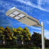 Alta qualidade 10W todo em uma luz de rua solar do diodo emissor de luz com o painel solar do diodo emissor de luz