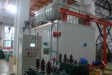 Four remplissant de pétrole de vide de transformateur
