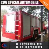 5t 6m3 Espuma de agua de extinción de incendios de camiones de agua extintor de incendios