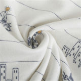 Hot Sale CVC Fleece avec motif imprimé pour 2020 vêtements automne/hiver de l'usure