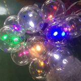 عطلة [لد] عرس زخرفة ساحر كرة كرة أرضيّة ضوء لأنّ عيد ميلاد المسيح خارجيّ