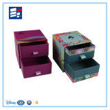 Caja de regalo de la joyería de papel para el pendiente, el anillo, la pulsera, el empaquetado del collar