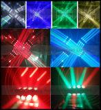 끝없는 자전 4X4 LED 이동하는 맨 위 광속 빛