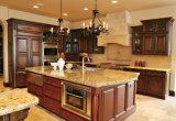 Gabinete de cozinha da madeira contínua da alta qualidade/mobília da cozinha/cozinha