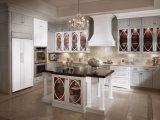 ホーム家具の純木の食器棚