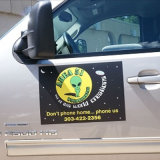 Mais novo design Custom Printing Removable Car Magnet Signs
