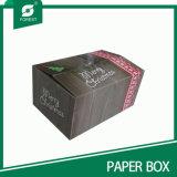 인쇄된 크리스마스 선물 포장 상자 도매