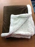 Couverture de corail d'ouatine d'ouatine de couverture de bébé couvrant polaire polaire lourd professionnel de polyester