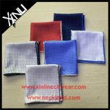Promoción de la mayorista de impresión personalizada la plaza de bolsillo de seda para adaptarse a
