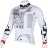 Белая геометрическая просто холодная куртка спортов покрывает Джерси людей задействуя