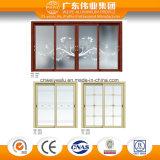 Porte coulissante en aluminium intérieure pour le balcon