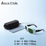 Hohe Laser-Energien-Sicherheits-Schutzbrille für Haar-Abbau-Laser/Laserdiode 808nm 980nm zahnmedizinisches Laser/1064nm Laser-808nm Nd: YAG