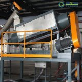 máquina de reciclaje de plástico reciclado en la botella de HDPE de reciclaje de lavado Línea completa
