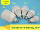 5W~15W bulbo inteligente de la emergencia LED