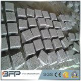 Кубика гранита G603 Bianco Sardo камень серого вымощая для подъездной дороги