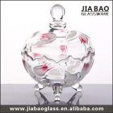 Tarro de cristal decorativo del nuevo diseño (GB1825XL)