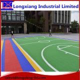 Material de piso específico para crianças que usam piso esportivo de suspensão suspensa em piso de bola