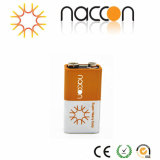 Superhochleistungs9v 6f22 Kohlenstoff-Zink-Batterie 6f22