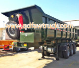 CIMC para o Tri-Eixo do caminhão pesado 25cbm de Vietnam que derruba o descarregador do reboque