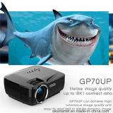 Gp70up Game Video Projector Bluetooth WiFi Projecteur LED sans fil