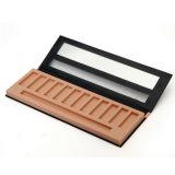 Europeu de papel de primeira qualidade da caixa dos cosméticos - caixa de sombra do olho do estilo
