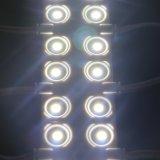 Sinalização de liras alimentado por módulos LED para publicidade de 0,72 W