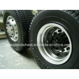 Neumático del carro de la asamblea de la rueda (385/65R22.5) con el borde de acero 11.75X22.5