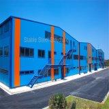 大きいスパンの現代デザインの前設計された鉄骨構造の倉庫