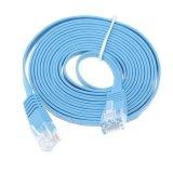 1m / 3m / 5m / 10м 32AWG медный кабель UTP с плоским сетевой кабель CAT6