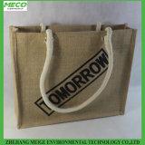 環境に優しいジュートのショッピング・バッグは、とカスタム設計し、大きさで分類する