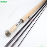 14ft 4PC 7/8wt Fibra de carbono Spey Fly Fishing Rod