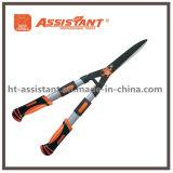 Cisailles extensibles pour la garniture de haie avec la lame interchangeable droite
