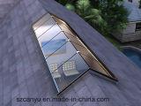 Ventana de cristal del tragaluz del perfil de la azotea de aluminio de la tapa