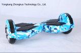 8inch 2 roues roues électriques en plastique Hard Cover Hoverboard abondant E-Scooter