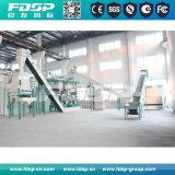Une grande efficacité 10tph Usine de fabrication granules de bois