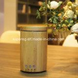 De echte Houten Ultrasone Verspreider Aromatherapy van het Bamboe