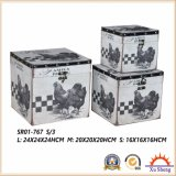 Молочной фермы шаблон печати чемодан украшения в салоне подарочные коробки для хранения и оформление