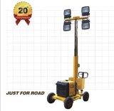 광업 건축 도로 공도 이동할 수 있는 발전기 등대를 위한 Hight 돛대 가솔린 등대