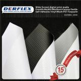 Het met een laag bedekte Geteerde zeildoek van pvc van de Opaciteit van de Polyester Flex Hoge