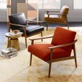 Silla nuevo diseño del diseño moderno de muebles tapizados de tela Ocio