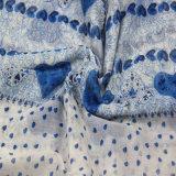 De hete Sjaal van de Polyester van de Druk van de Verkoop met de Vlek van de Vorm van het Hart, vormt Bijkomende Sjaal