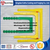 Plastiküberzug-legierter Stahl-Einsteigeloch-Jobstepp