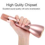 Hot Sell Ss-K088 Mini Karaoke sem fio Bluetooth Microfone alto-falante