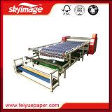 máquina rotatoria del traspaso térmico de la sublimación de 420mm*1700m m para que rodillo ruede o cubra la tela