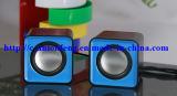 Minicomputer-Audiolautsprecher-nachladbarer Lautsprecher musik USB-2.0