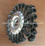 5インチの二重鋼線の車輪のブラシ(YY-233)