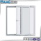 Porta deslizante de alumínio interior ou exterior de vidro Tempered
