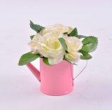 錫水缶の多彩なハンドメイドの野生花
