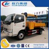 Dongfeng Dlk 4X2 판매를 위한 새로운 디자인 갯벌 준설 트럭